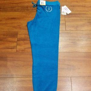 Juicy Couture size Medium blue sweatpants, New
